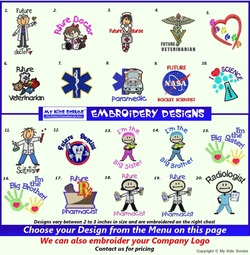 Scrubs Embroidery Designs